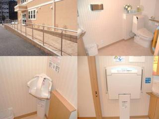 バリアフリー対応とトイレ設備
