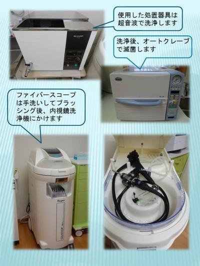 内視鏡の洗浄と感染予防
